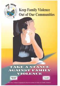 Keep Violence Out of Our Communities - Family Violence Poster